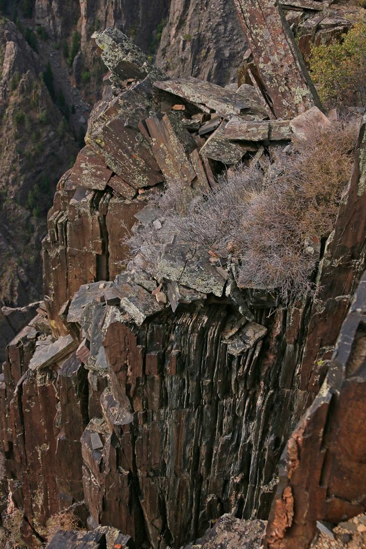 Vertical Rocks.
