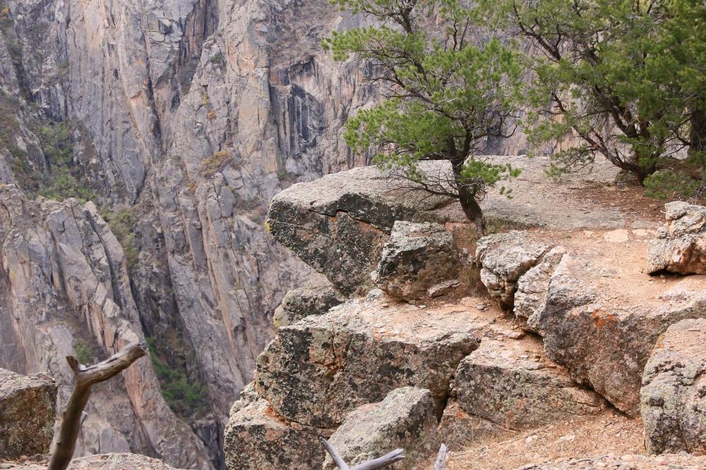 Cliffs end.