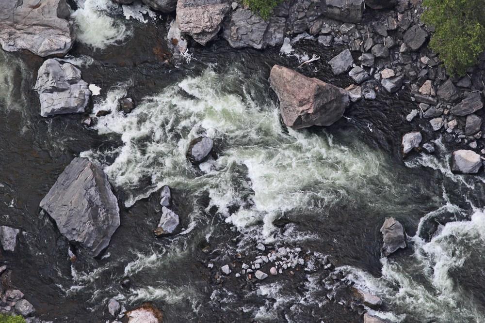 Closeup rapids