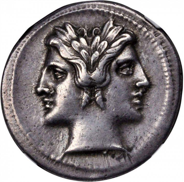 Janus coin (January)