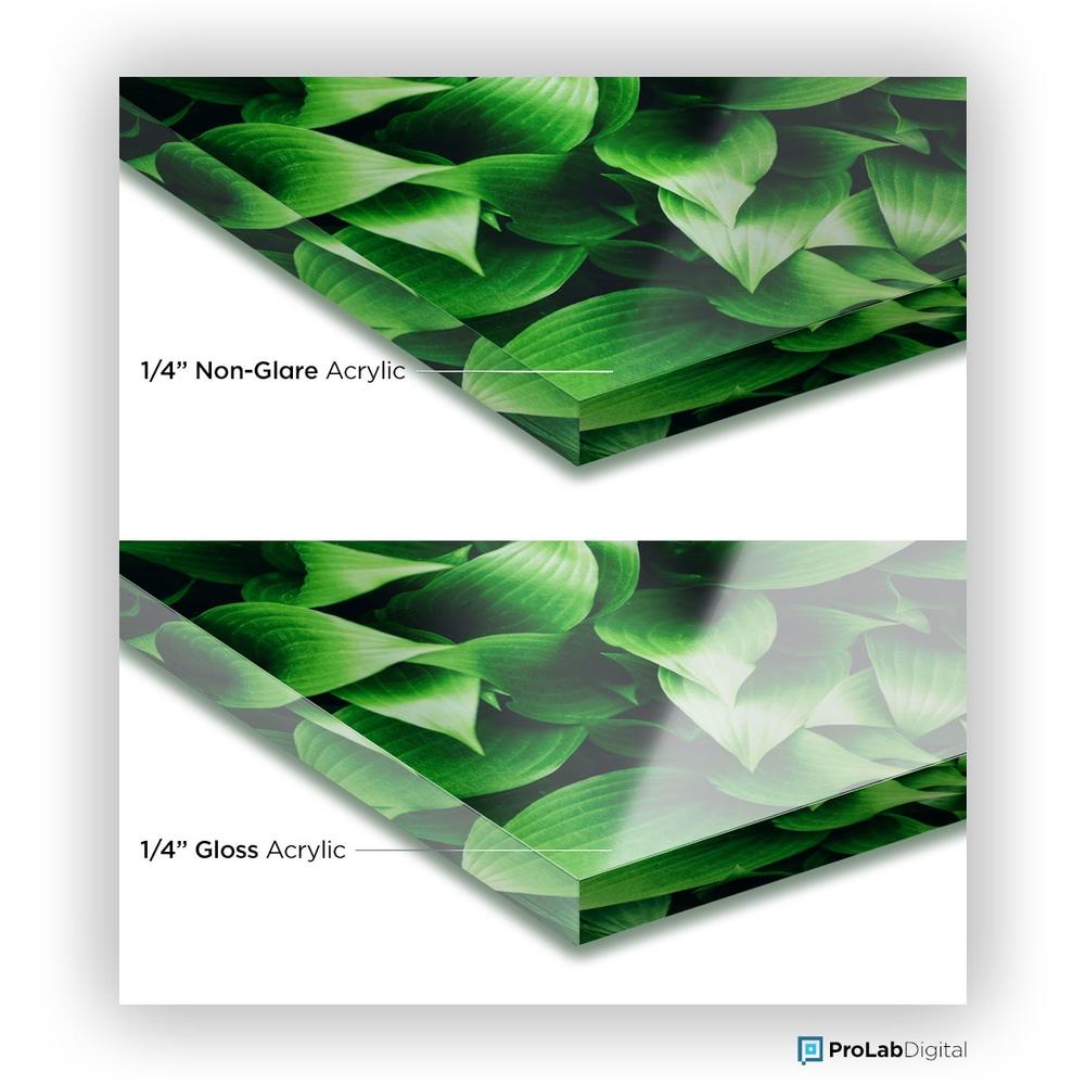"1/4"" Non-Glare Acrylic Upgrade"