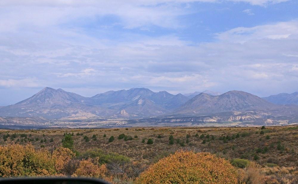 Terrain near Paonia, Colorado