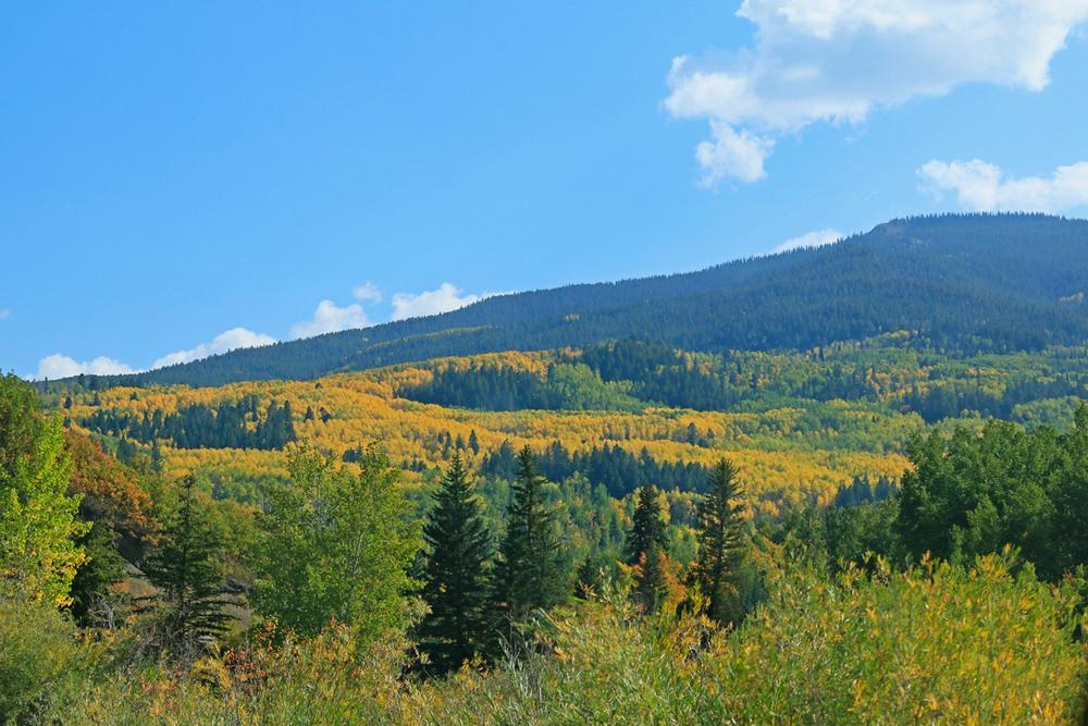 Aspen, Colorado view