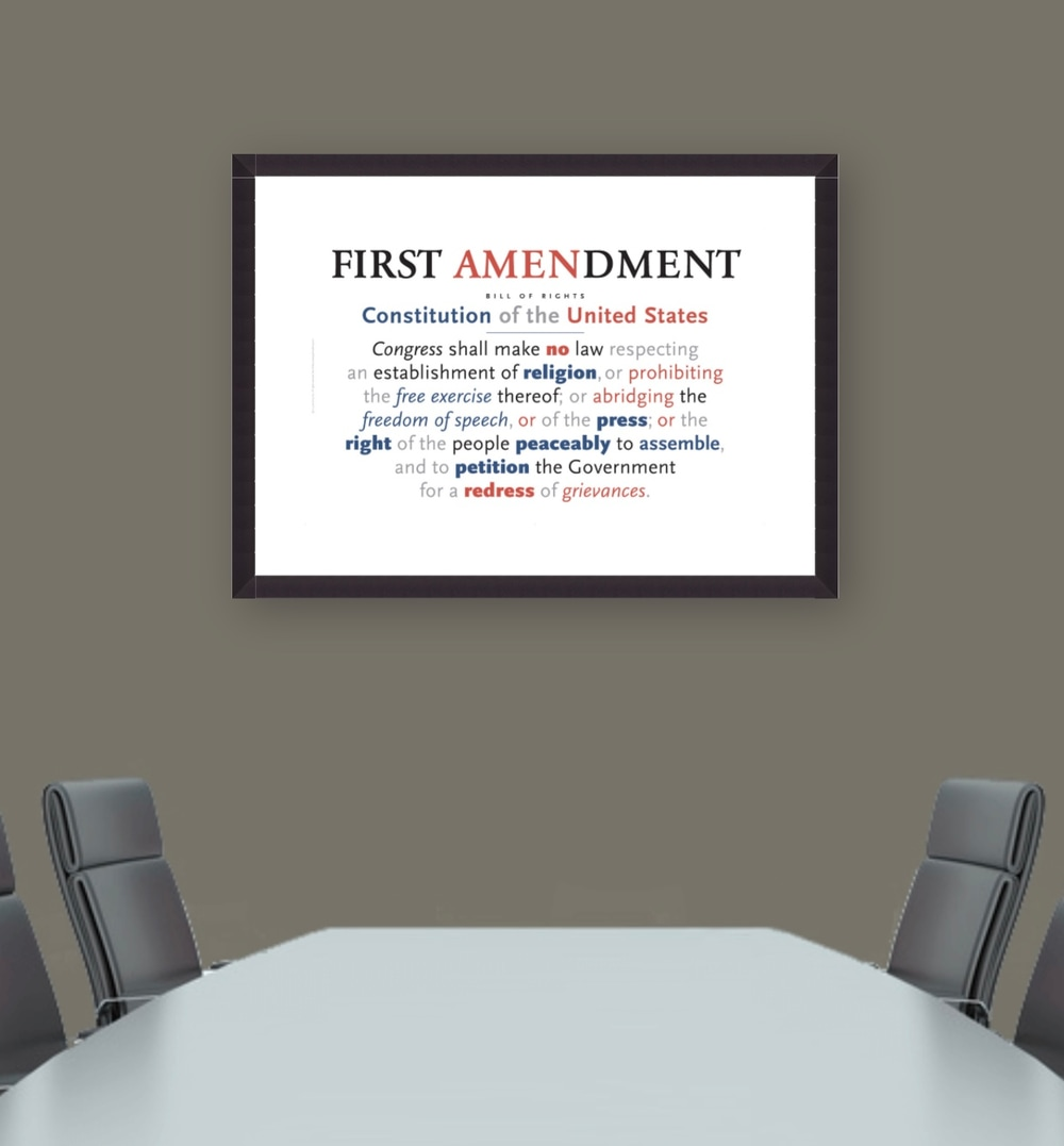 First Amendment Art