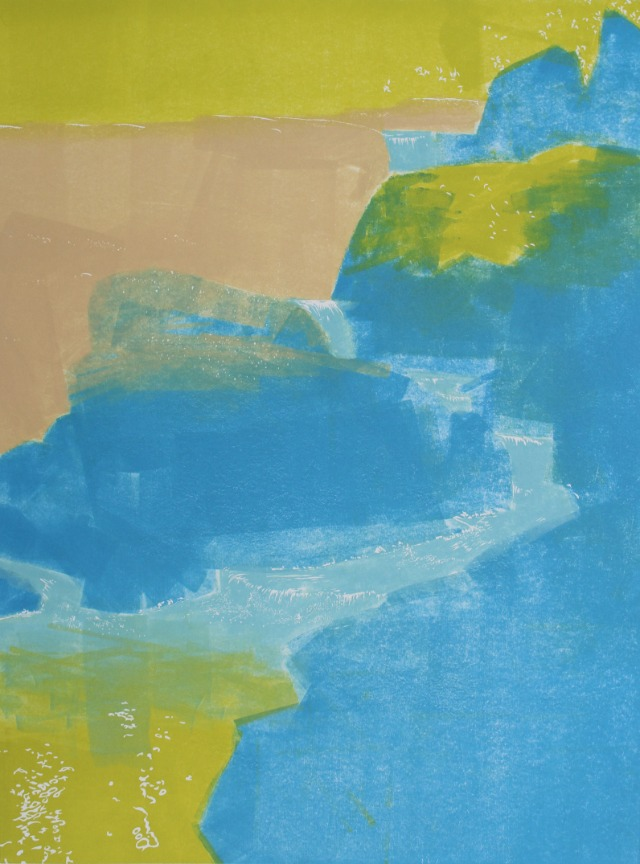 Granite Cascade, first impression, by William H. Hays