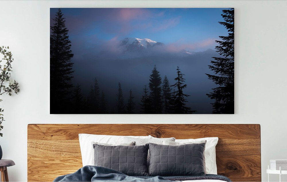 Contemporary fine art framing options for Thomas Schoeller acrylic float prints