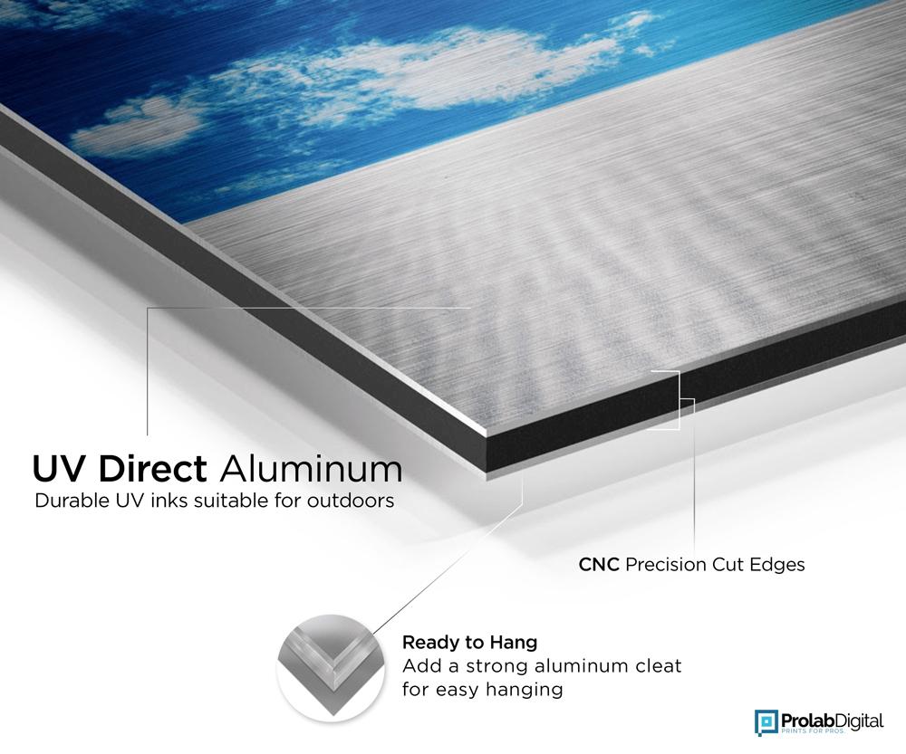 Aluminum - UV Printed