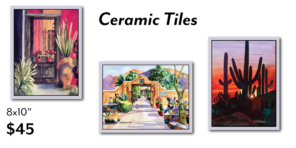8x10 Decorative Ceramic Tiles