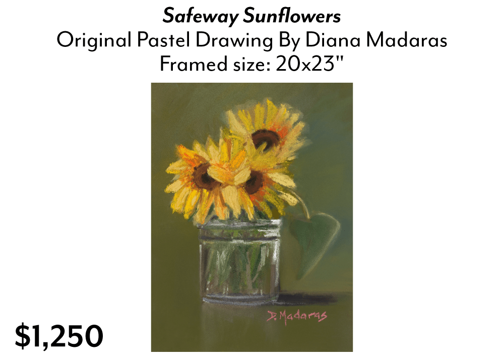 Safeway Sunflowers by Diana Madaras