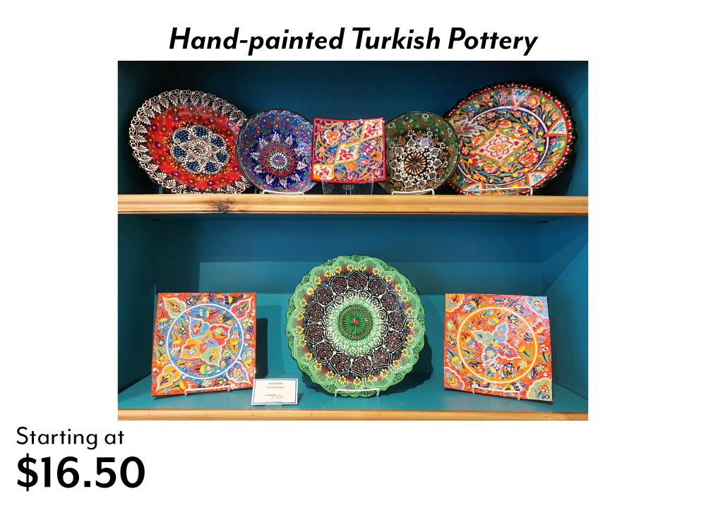 Turkish Pottery at Madaras Gallery