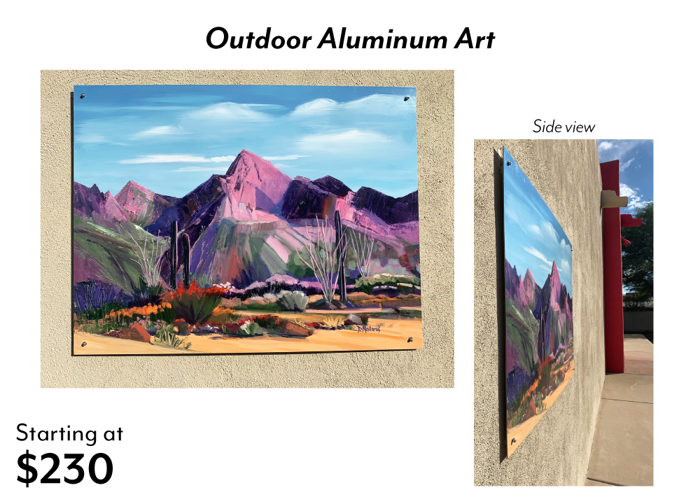 Outdoor Aluminum Art