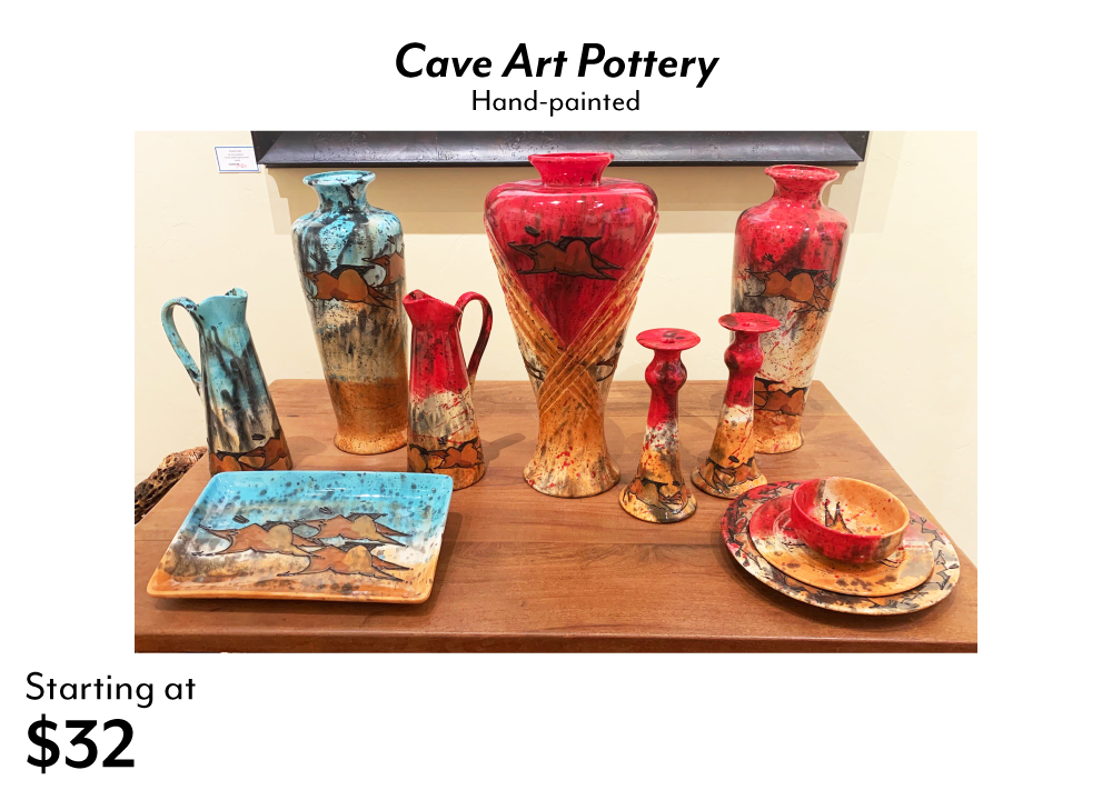 Cave Art Pottery