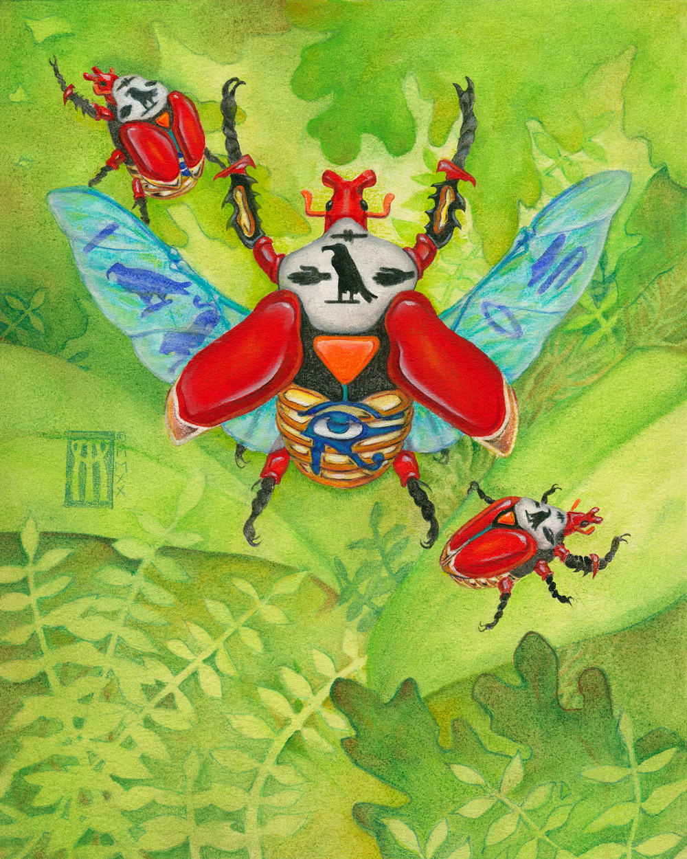 Sacred Scarabs
