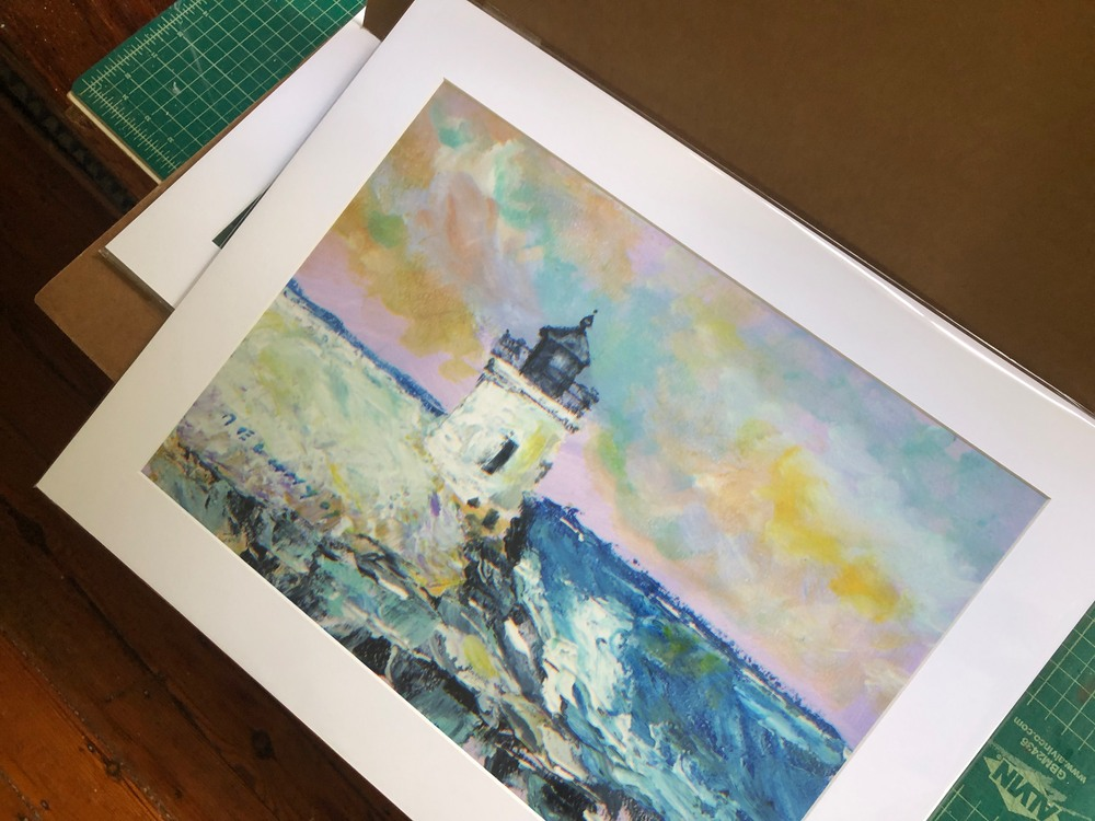 Castle Hill Light Art Print