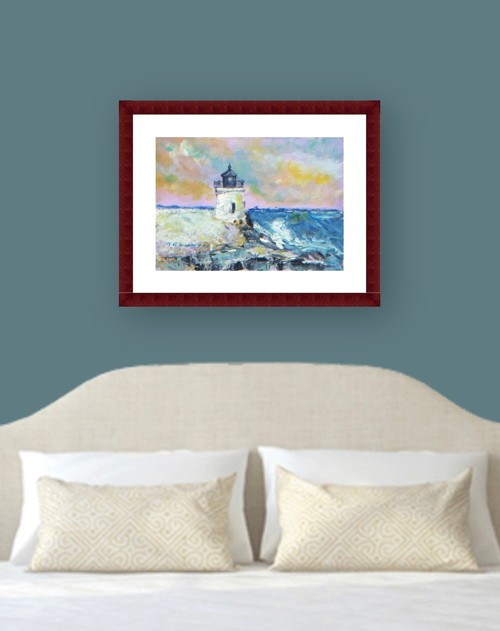Castle Hill Light House Print