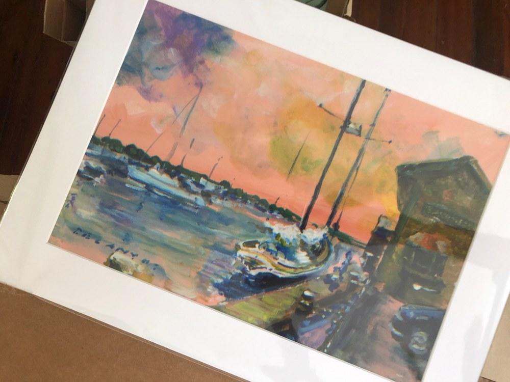 Bannister's Wharf Newport RI