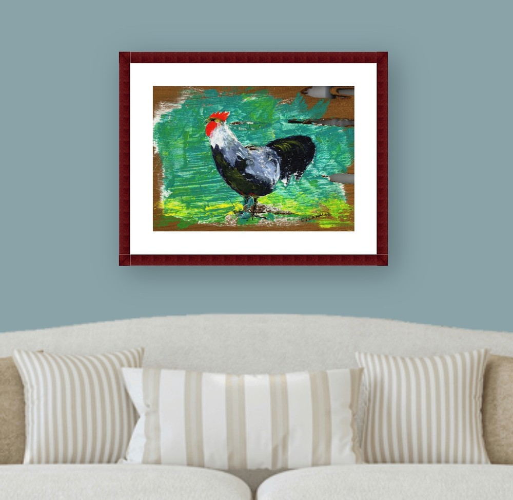 Big  Boy 1 Rooster Art Print