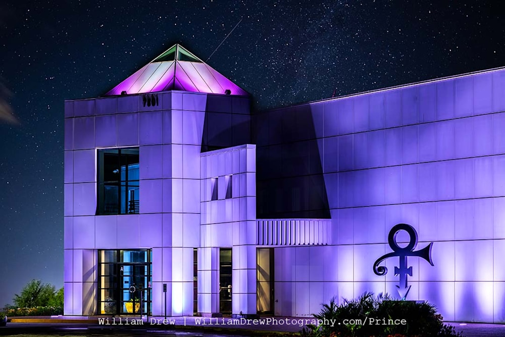 Paisley Nights at Paisley Park - Photographic Prints of Prince's Paisley Park | William Drew Photography