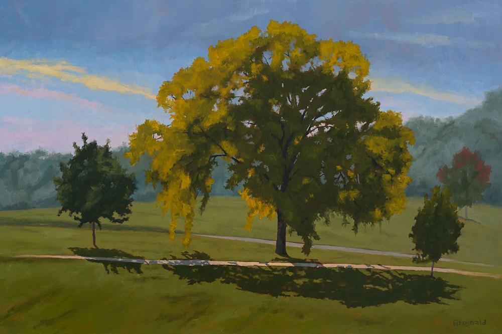 Beginning of Fall art by Abbey Fitzgerald