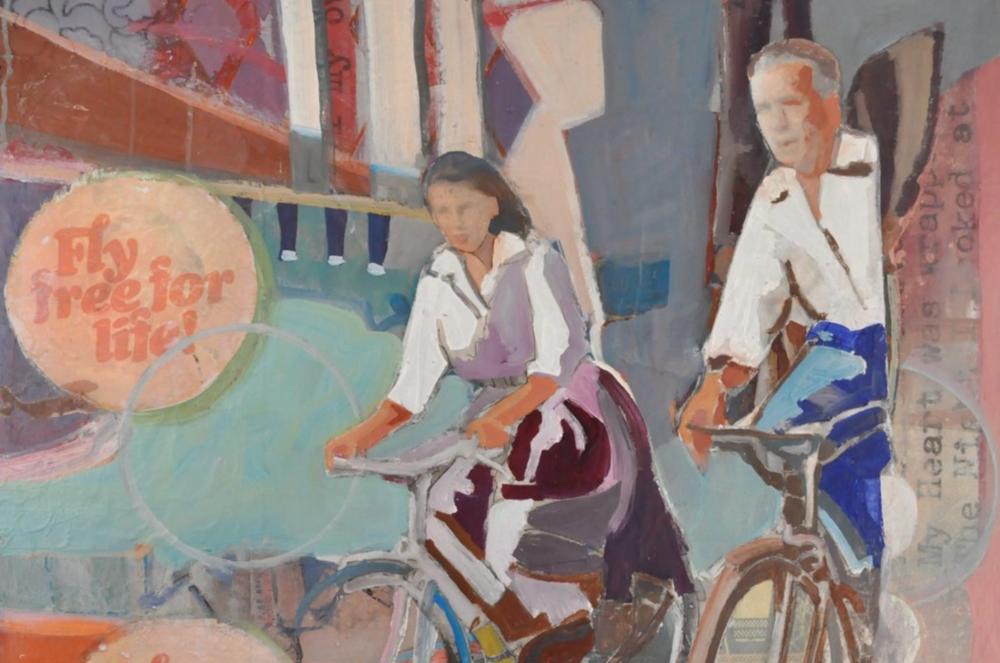 biking into a world of love