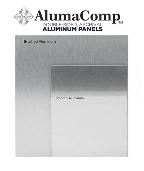 AlumaComp aluminum panel as a support for doing acrylic paintings