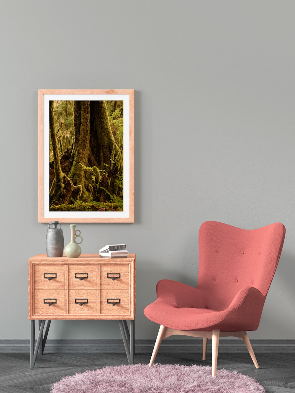 New Print Release: Tree, Queets River Valley, Olympic National Park, Washington, 2020