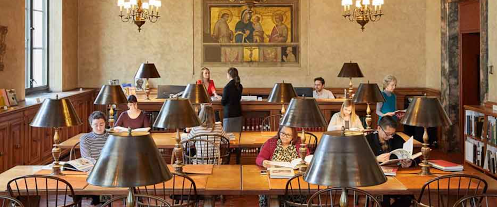 Frick Art Reference Library Reading Room