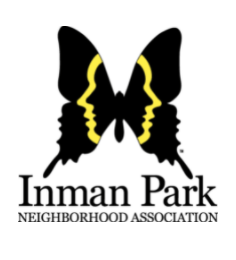 The Inman Park butterfly logo