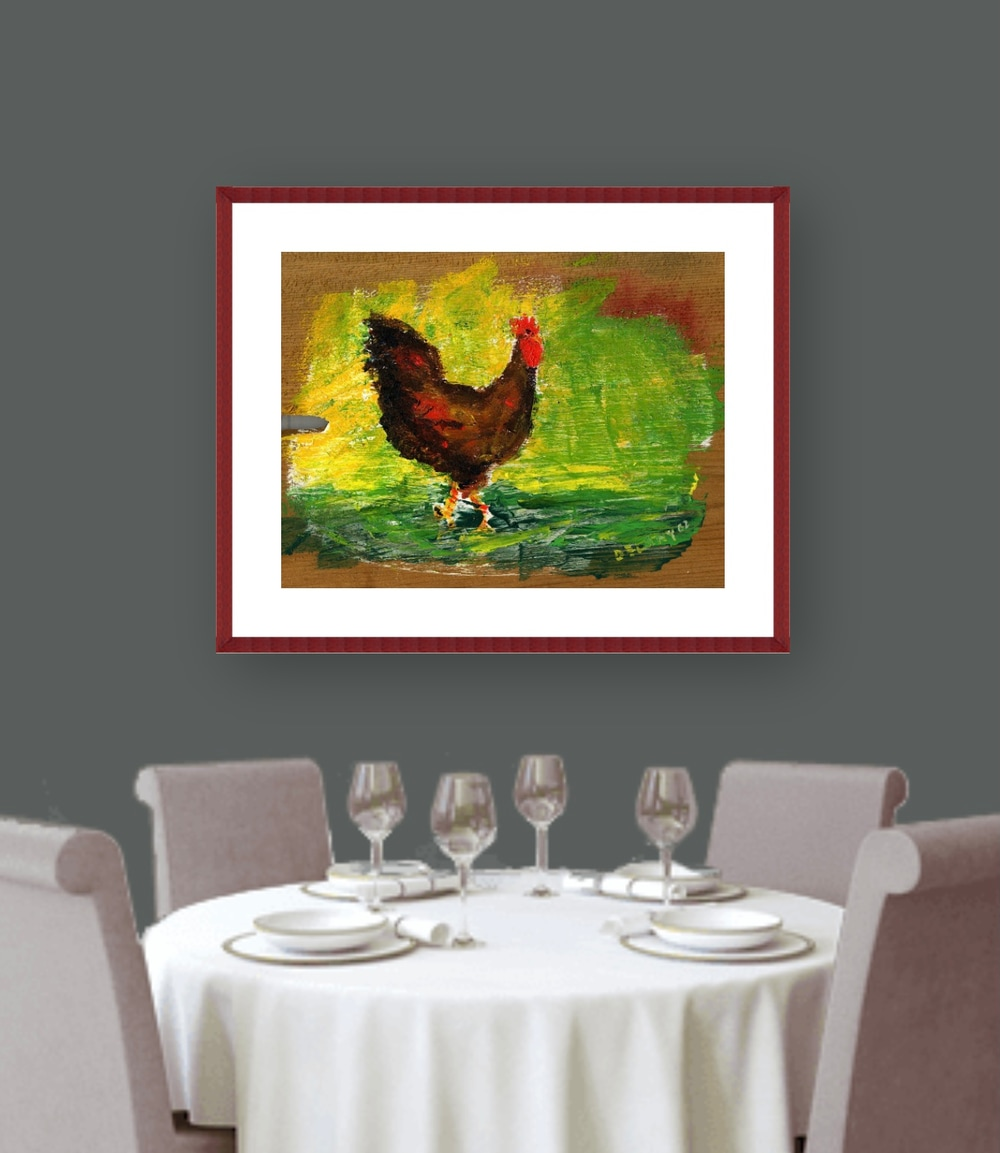 cockerel art