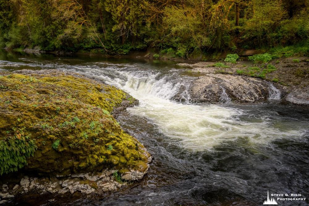 Rainbow Falls, Chehalis River, Washington