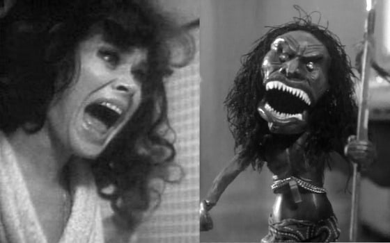 Karen Black and the evil doll from Trilogy of Terror
