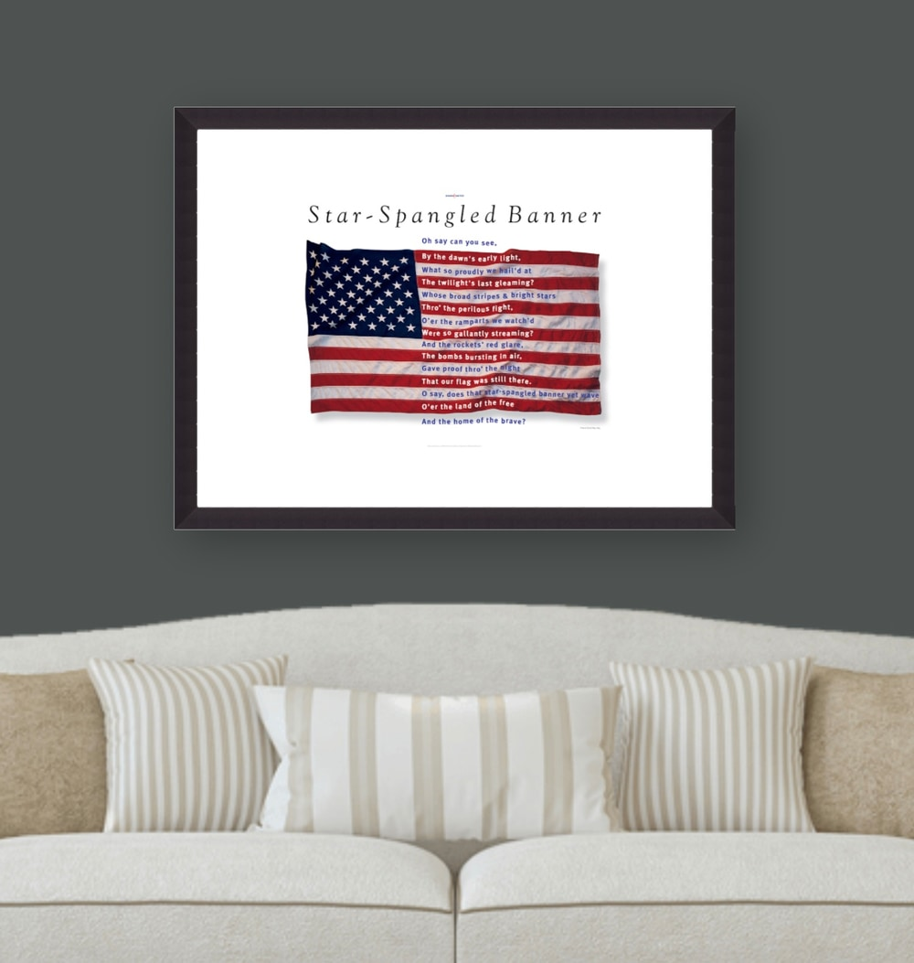 Star Spangled Banner print