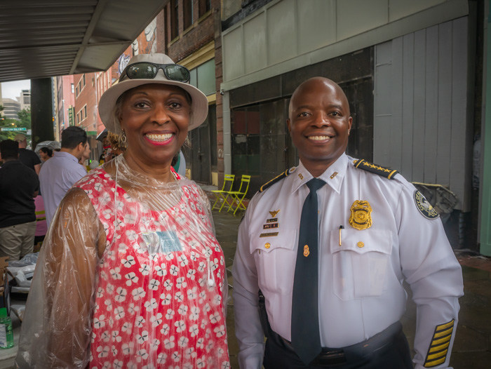 Dorthey and the Police Chief