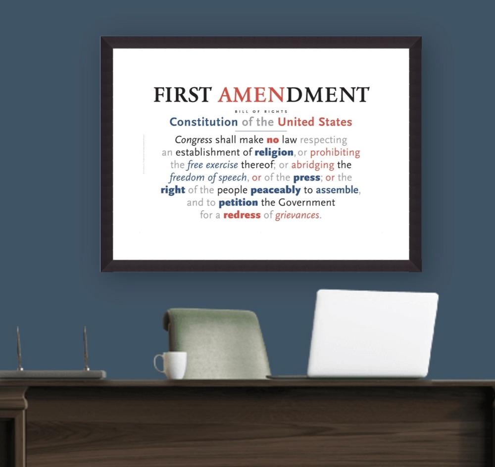 First Amendment Print