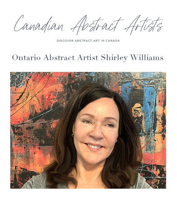 Shirley Williams selected as Canadian Abstract Artist of the Month
