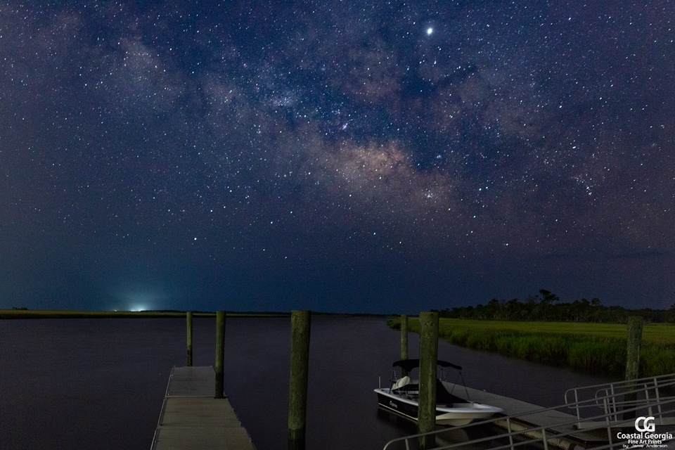 Ossabaw Dock Milky Way View