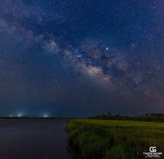 Milky Way O'er Ossabaw