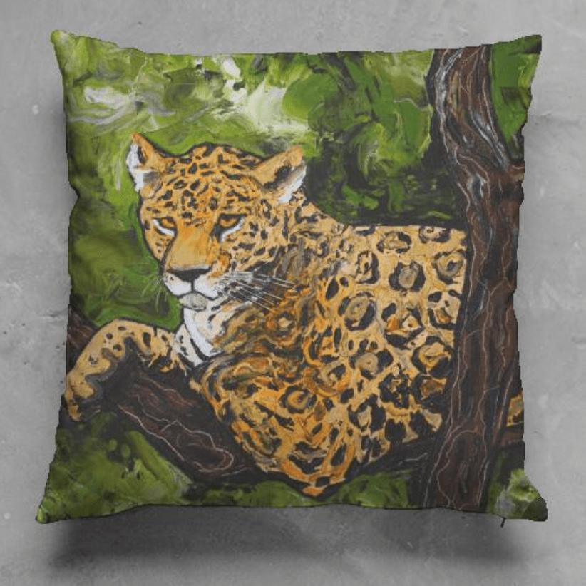 Jaguar Pillow