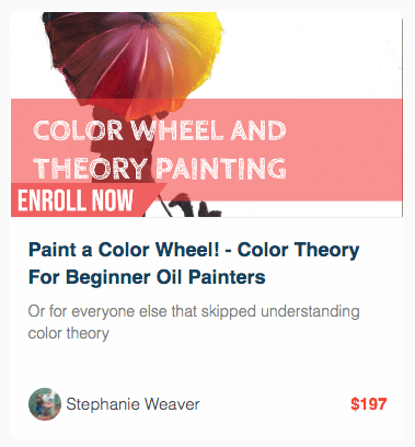 Color Wheel Painting and Color Theory