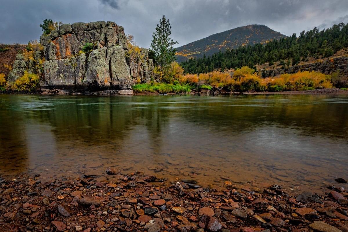Morning on the Rio Grande River - Colorado photography