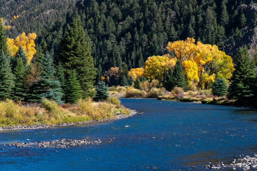Fall on the Rio Grande River
