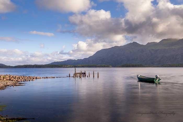 Boat on Loch Maree