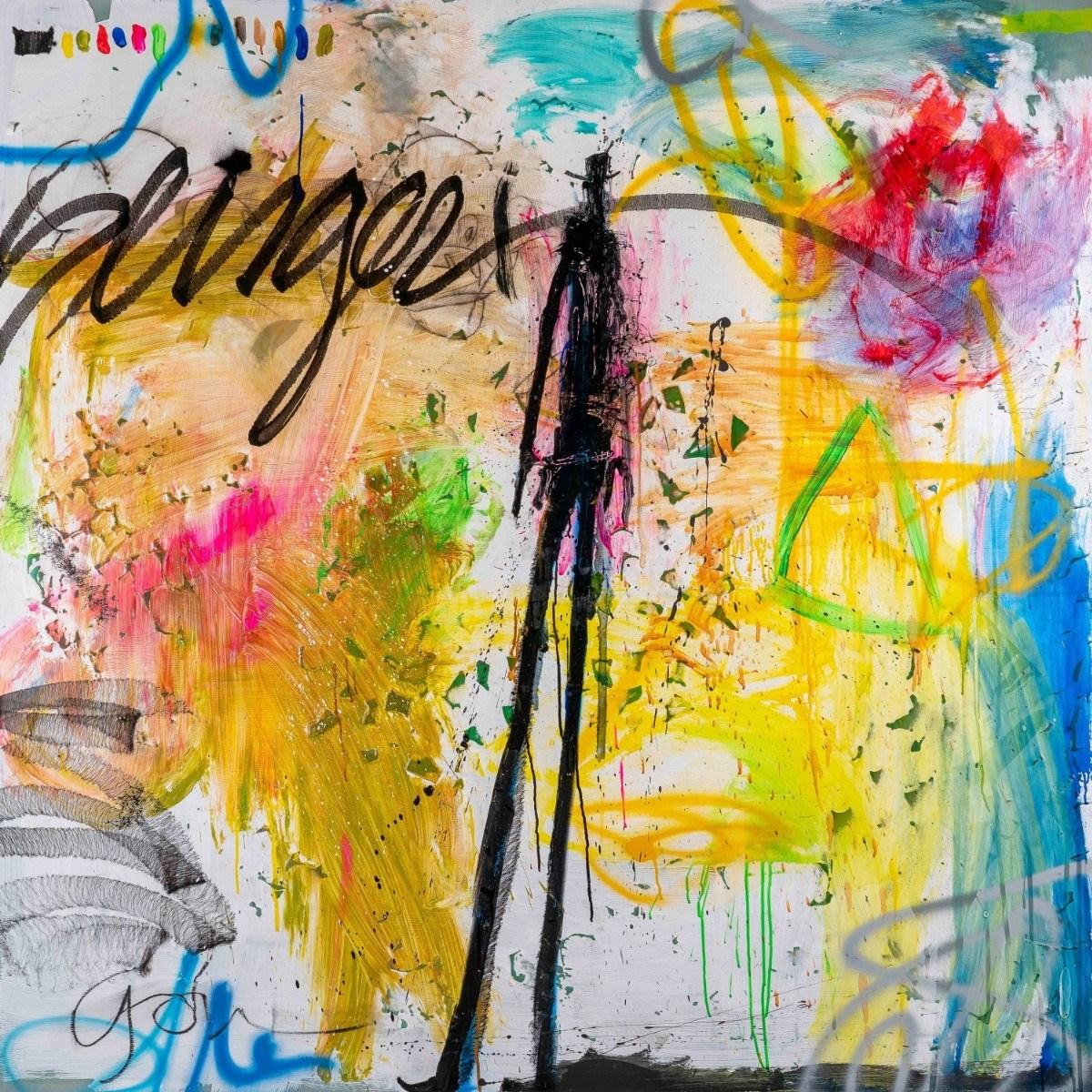 Michael Gorman & Glenn Deneve Slinger Mixed Media  | Live Auctioneers