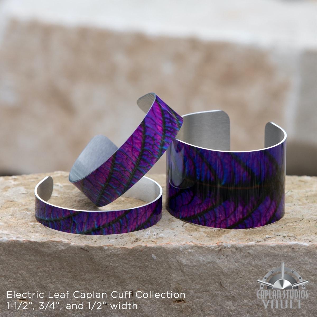 Electric Leaf Caplan Cuff