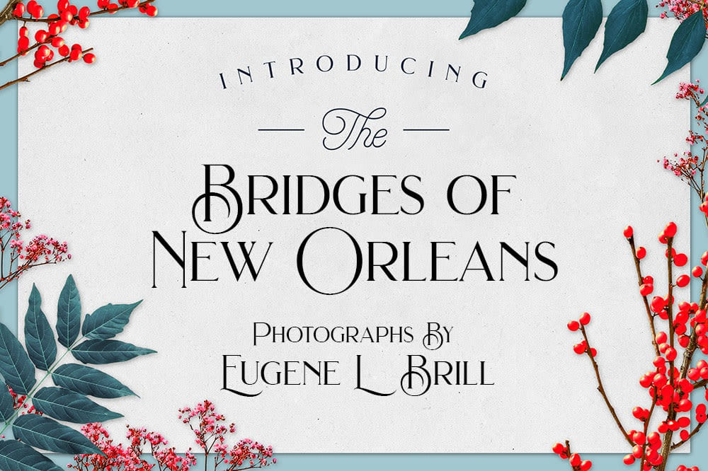 Bridges of New Orleans Photos by Eugene Brill