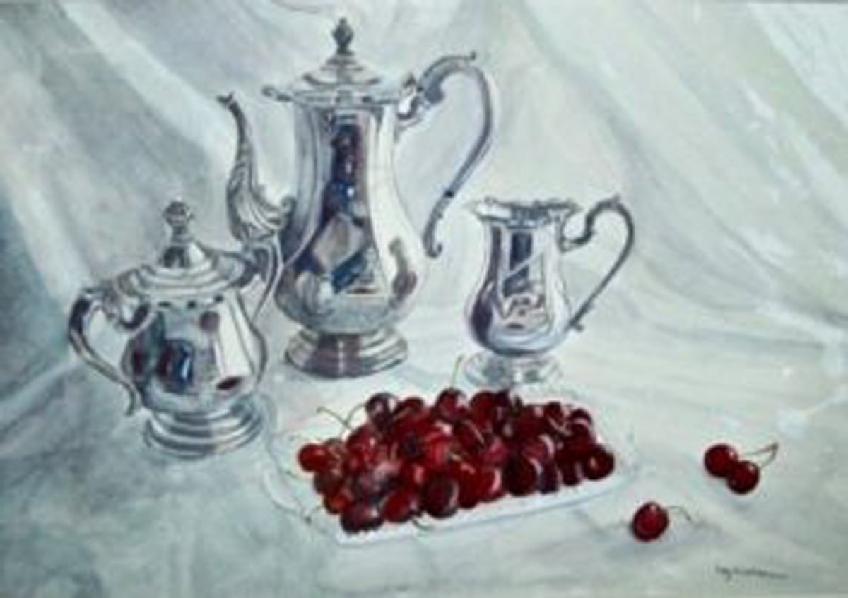 Tea and Cherries
