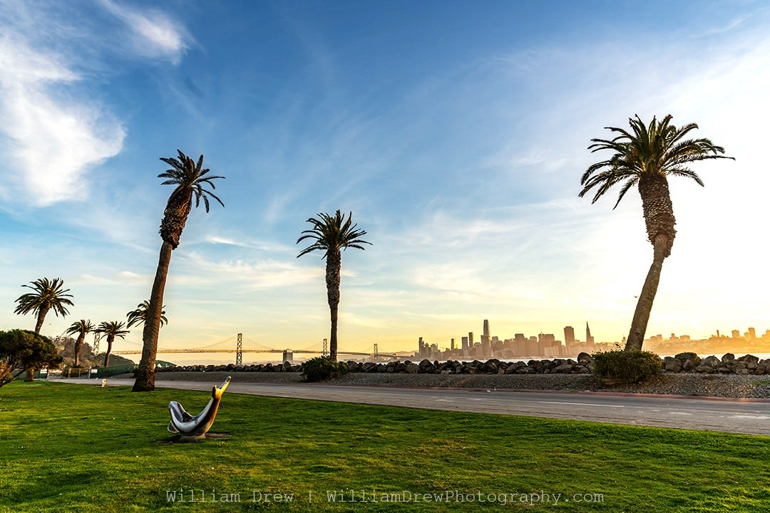 Treasure Island San Francisco Sunset
