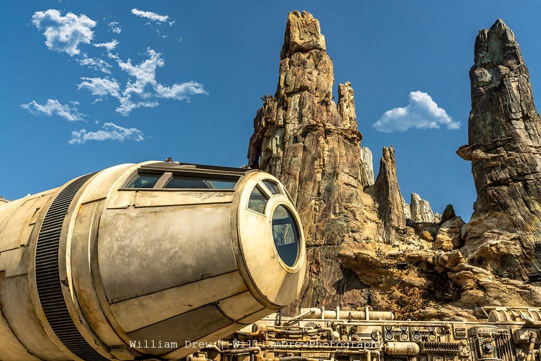 Millennium Falcon Cockpit at Disneyland