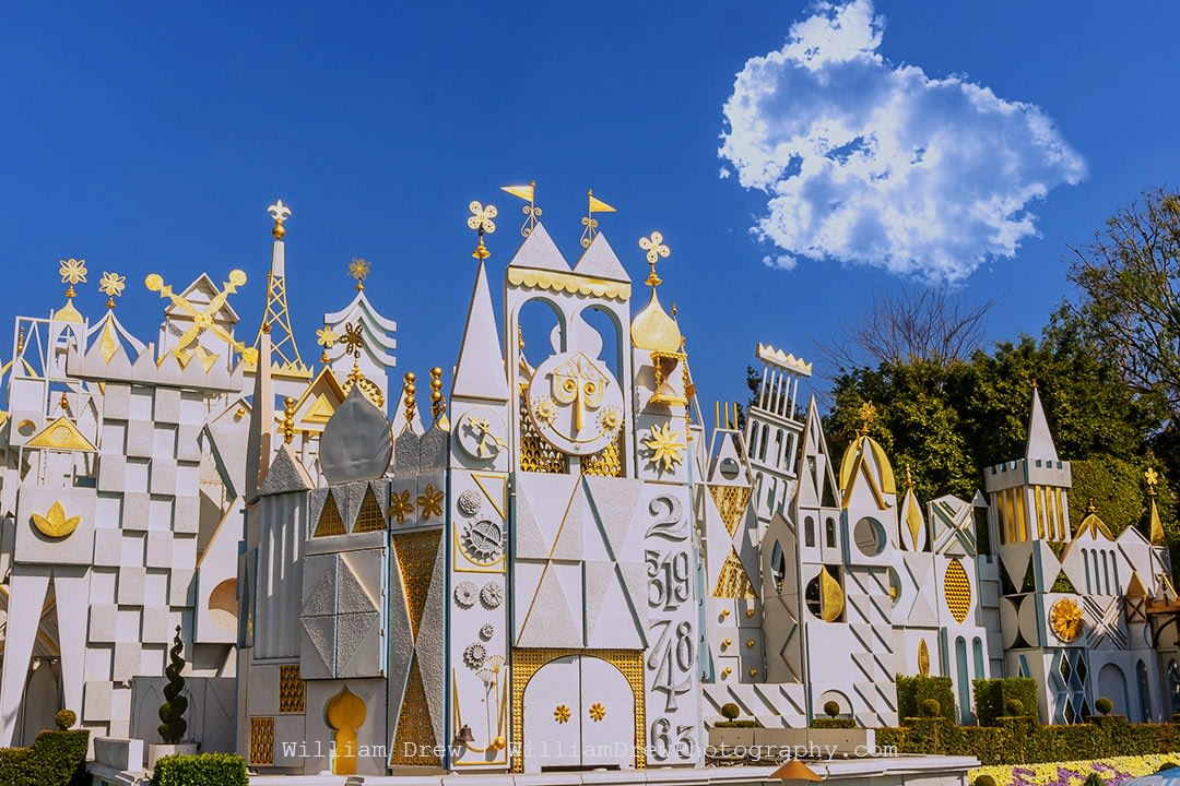 Small World Disneyland Photograph