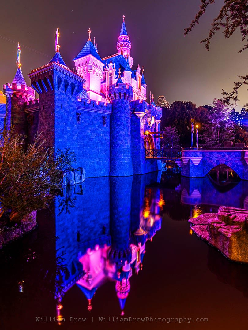 Reflections of Sleeping Beauty Castle